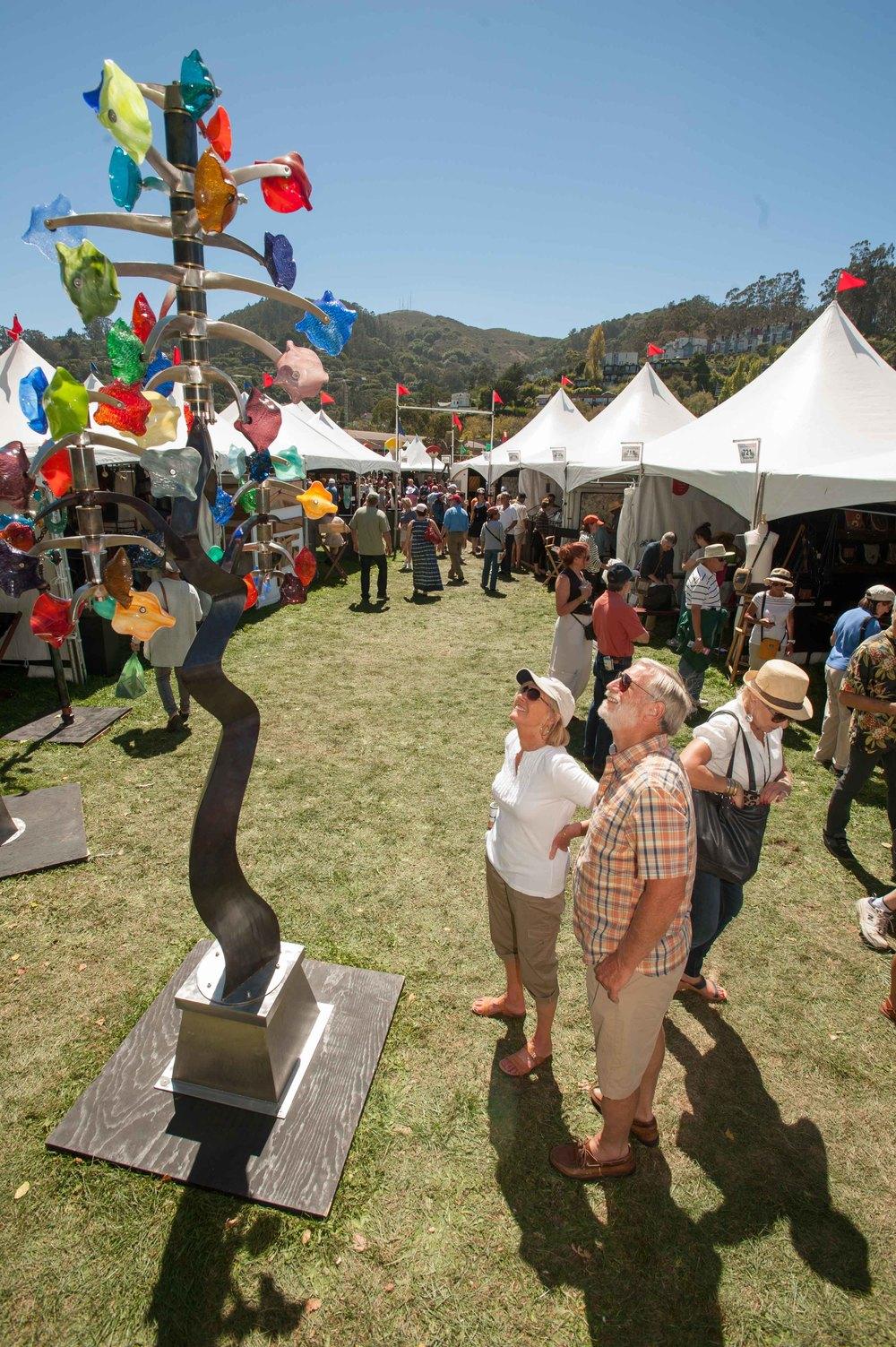 The 64th Annual Sausalito Arts Festival – 第64屆Sausalito藝術節 (9/3 – 9/5)