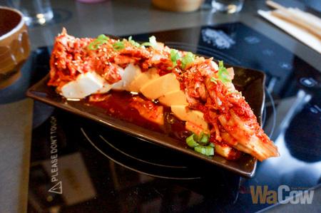Kimchi Hiyayakko Cold Tofu 2
