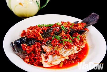 土匪剁椒蒸魚2