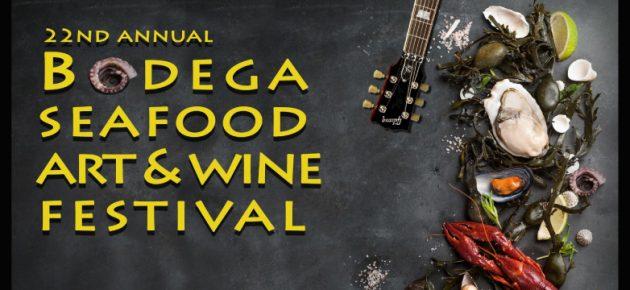 Bodega Seafood Art & Wine Festival 第22屆博迪迦海鮮、藝術與美酒節 (8/27 – 8/28)