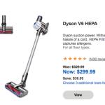 Labor Day折扣來啦! Dyson 吸塵器促銷現省$200