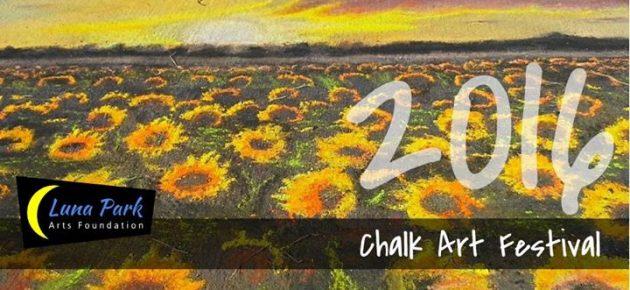 第九屆粉筆藝術節 2016 Luna Park Chalk Art Festival (9/17)