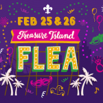 Treasure Island Flea Mardi Gras Celebration 跳蚤市场庆狂欢! (2/25-2/26)