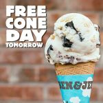 Free Cone Day!Ben & Jerry's 免費甜筒日 (4/4)