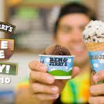 Free Cone Day!Ben & Jerry's 免費甜筒日 (4/10)