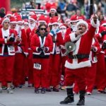 San Francisco Great Santa Run 三藩聖誕歡樂跑 (12/8)