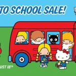 Sanrio Back to School Sale! 三麗鷗開學拍賣會(8/18)
