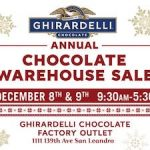 Ghirardelli Chocolate Warehouse Sale 鷹牌巧克力凹累開倉特賣!(12/8-12/9)