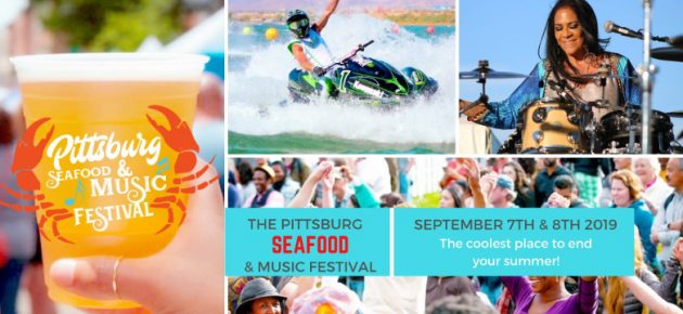 Pittsburg Seafood & Music Festival 匹茲堡海鮮音樂節 (9/7-8)