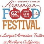 62nd Annual Armenian Food Festival 亞美尼亞美食節 (9/13-15)