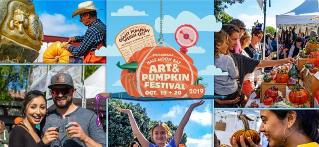 Half Moon Bay Art & Pumpkin Festival 半月灣南瓜藝術節 (10/19-20)