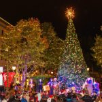 Santana Row Annual Tree Lighting Ceremony 聖誕樹點燈儀式 (11/19)