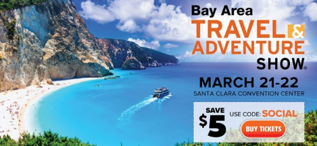 Bay Area Travel & Adventure Show 灣區旅遊展 (3/21-22)